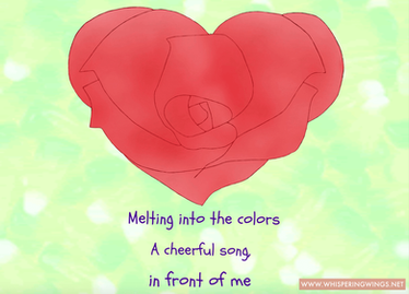 Valentien's day poetic art 1