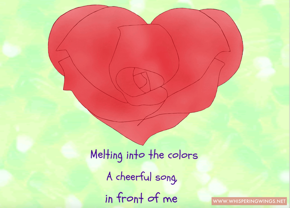 Valentien's day poetic art 2