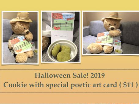 Halloween sale! (October 1, 2019 )