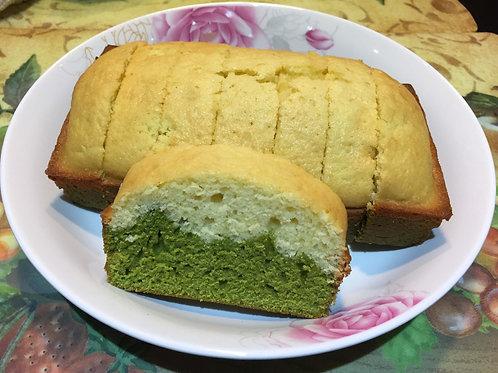 Organic Matcha Madeleine Loaf Cake