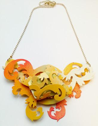 Yellow Porcelain 黄色瓷片