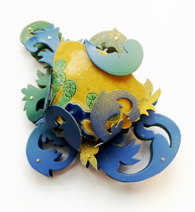Blue Shard 蓝色瓷片