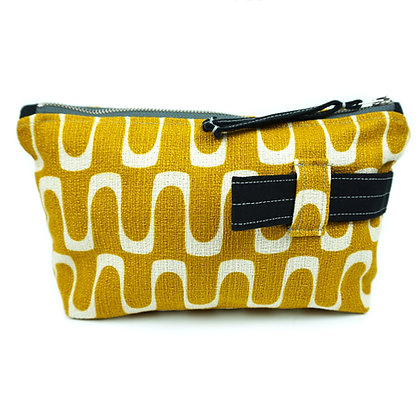 the cool - Cosmetic Bag/ Make Up Bag/ Pencil Case (recycled/ organic fabrics)