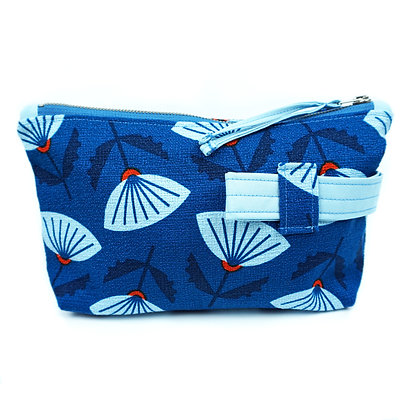 water garden - Cosmetic Bag/ Make Up Bag/ Pencil Case (recycled/ organic fabrics