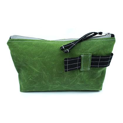 smart - Cosmetic Bag/ Make Up Bag/ Pencil Case (recycled/ organic fabrics)