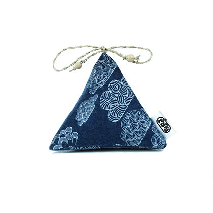 """night clouds (organic cotton flannel) """"Pyrascents"""" Herbal Bags - refillable"""