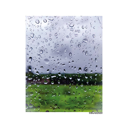 raindrops - Picture Card/ Postcard - printed on uncoated natural paper