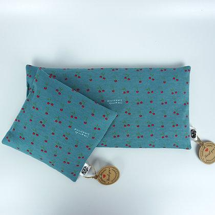 kirschkern spuken! (organic cotton jersey) Warming Pillows - cherry stones