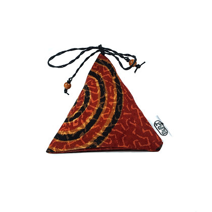 """tribal (recycled) """"Pyrascents"""" Scented Pyramids/ Herbal Bags - refillable"""