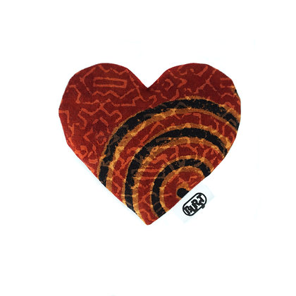 tribal (recycled) Scented Hearts - refillable