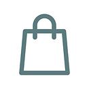 Ein Icon welches eine Einkaufstasche zeigt.