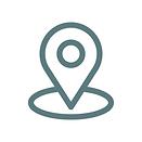 Ein Icon welches einen Standortmarker zeigt.