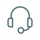 Ein Icon welches ein Headset zeigt.