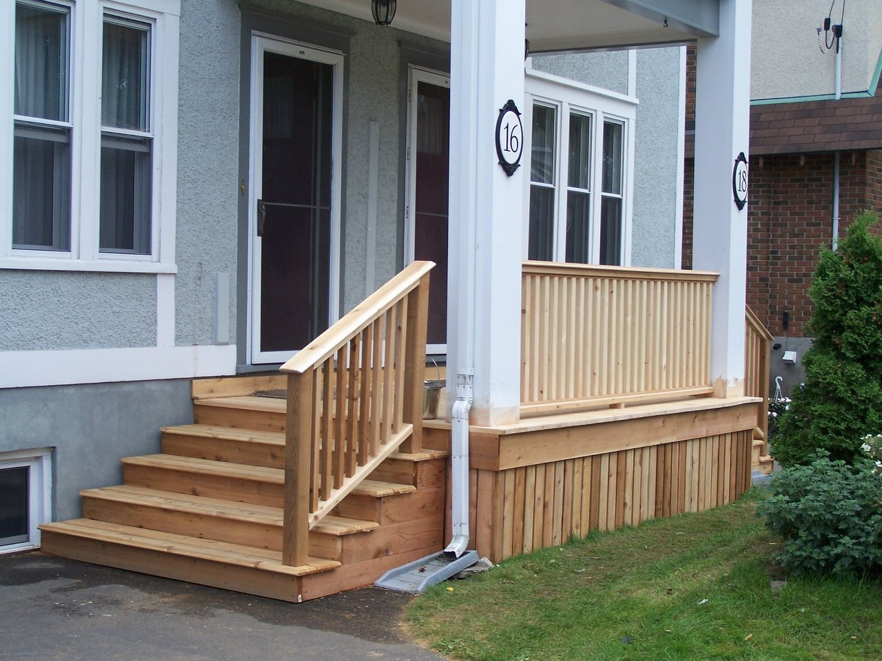 Front Porch Re-Build