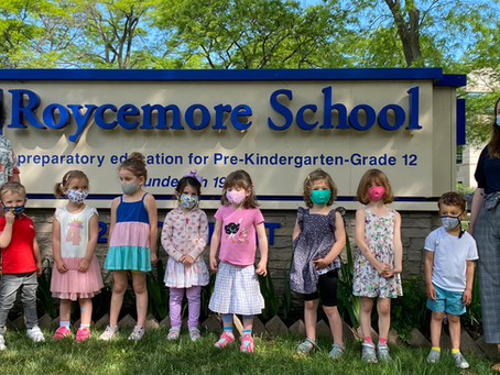And in the blink of an eye. Pre-k is over.
