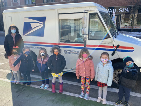 Community Helpers - Letter Carriers and Chefs.