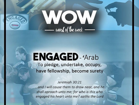 Word of the Week: Engage