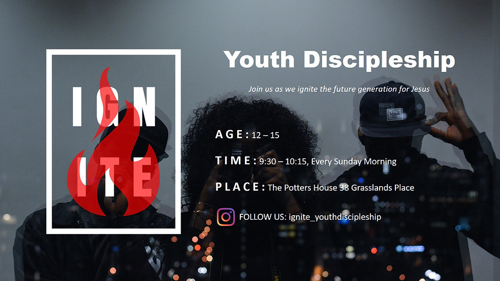 Youth Disciple Group
