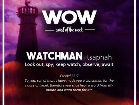 Word of the Week: Watchman
