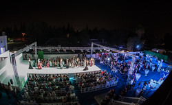 Outdoor Event Production with Runway and Models OC LA Events 949-374-7258