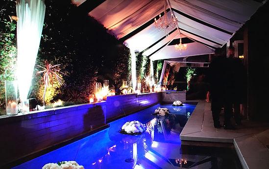Pool Decor Event Design by OCLAEvents in Orange County 949-374-7258