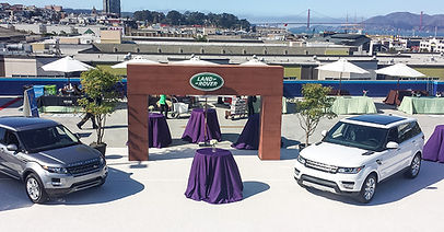 New Jaguar branding event. Call us: 949.374.7258