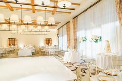 Amazing Reception White and Gold Theme Serving Los Angeles and Orange Counties 949-374-7258