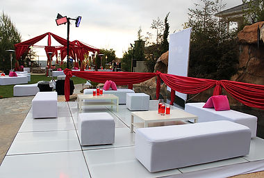 Our beautiful decorations and event furnitures will make your event memorable.