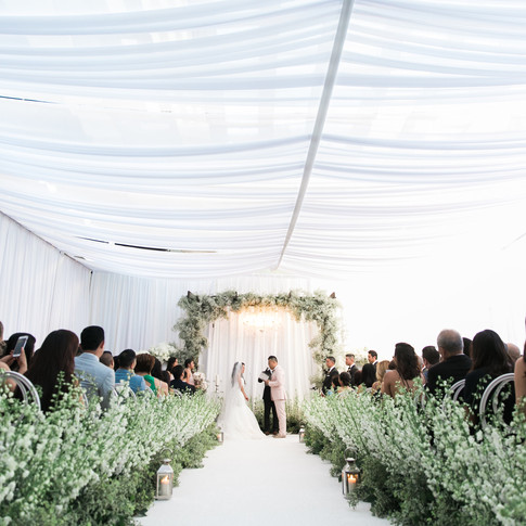 Wedding Runway with Flowers Aisle in Los Angeles County Call 949-374-7258