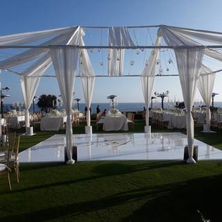 Wedding Setup By Oceanside Event Production OCLAEvents 949-374-7258