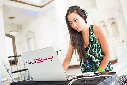 DJ Shy. Female DJs for your event in Los Angeles County and Orange County.