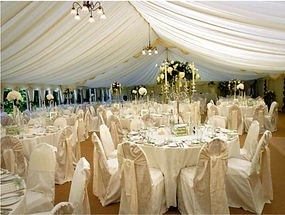 Beautiful swagging and canopy event. Call us: 949.374.7258