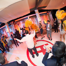 Corporate Floor Of Your Logo And Event Production by OCLAEvents 949-374-7258