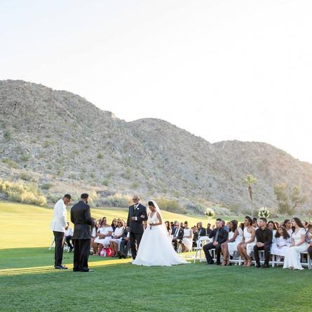 Grass Walkway Wedding Scene in Orange County Call 949-374-7258