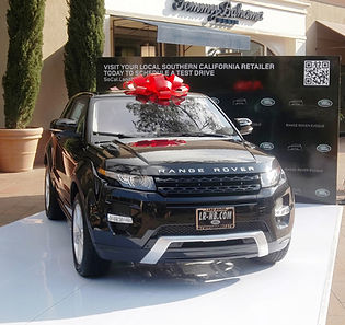 Range Rover branding event. Call us: 949.374.7258
