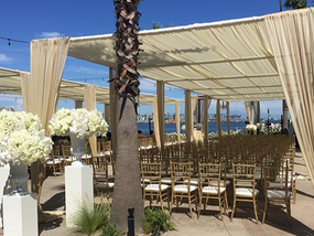 Create shade for your next event or wedding