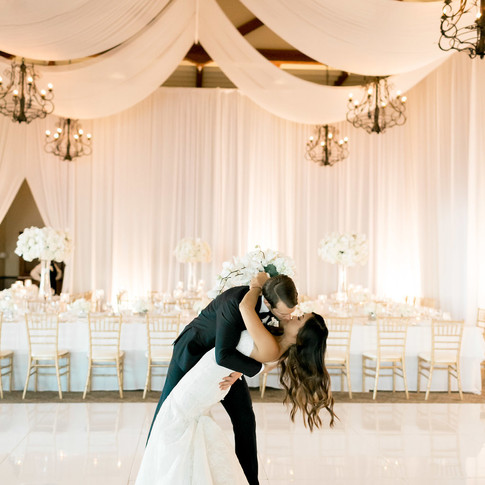Beautiful Wedding Decorations and Dance Floor in Los Angeles County Call 949-374-7258