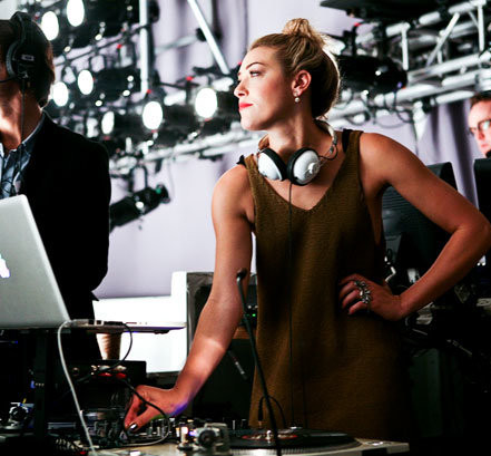 DJ Services By The Beautiful Models At Your Event in Los Angeles County Call 949-374-7258