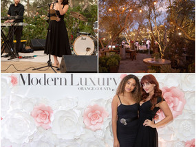 Modern Luxury To Live and Dine event