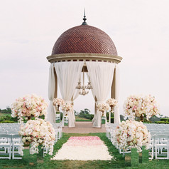Pink Alter Wedding Decorations in Los Angeles County Call 949-374-7258
