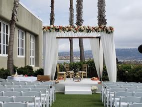 Indian wedding Mandap Portofino Hotel