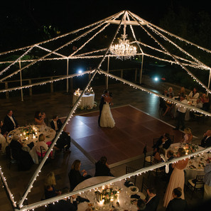 Night Wedding Decorations and Dance Floor By OCLAEvents 949-374-7258