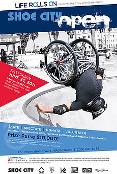 Charity wheelchair event example. Call us: 949.374.7258