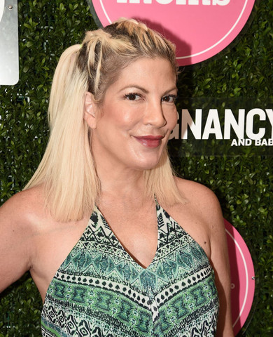 Beautiful Tori Spelling At Big City Moms Launches 1st Biggest Family Shower Ever in Los Angeles Call 949-374-7258