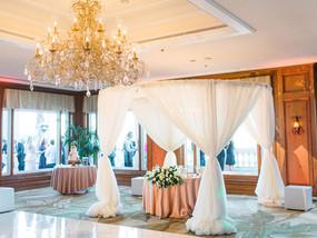 Ritz Carlton Marina Del Rey Wedding Reception for Amber and Adam