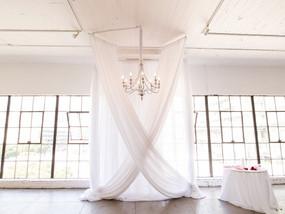 Beautiful Wedding Ceremony Draping