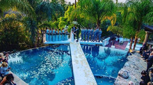 Wedding Pool cover