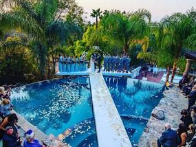 Wedding Pool cover