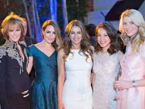 Genlux Launch Party hosted by Elizabeth Hurley