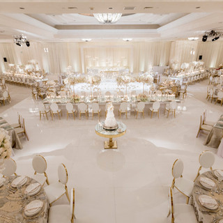 White Wedding Decoration And Setup By OCLAEvents 949-374-7258